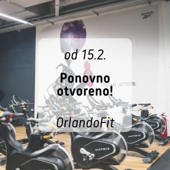 Od 15.2. OrlandoFit ponovno je otvoren